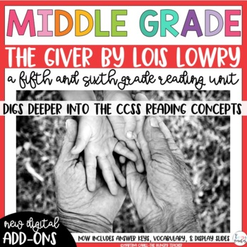 Fifth Grade Reading Unit - The Giver