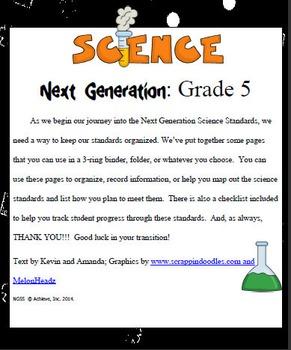 Fifth Grade Science Common Core
