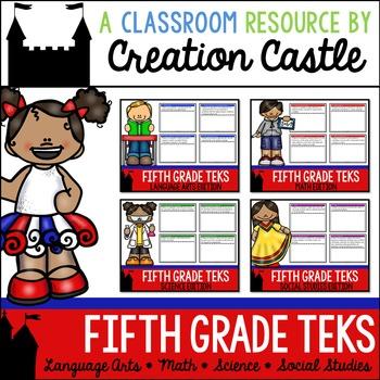 Fifth Grade TEKS Bundle