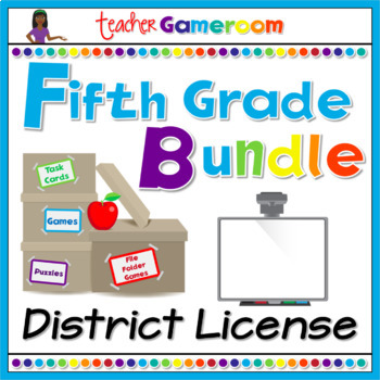 Fifth Grade Yearly District License