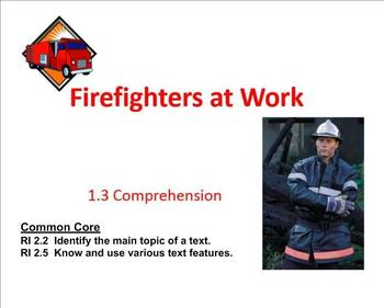 Fighting the Fire Comprehension  SMART Notebook:  Main ide