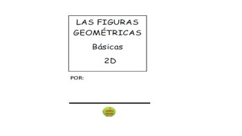 Figuras Geometricas 2D One Page Stapleless Booklet (SPATH