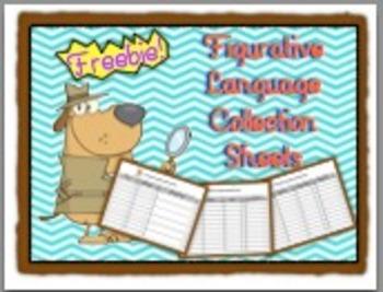 Figurative Language Collection Sheets FREEBIE