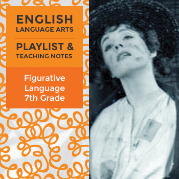Figurative Language - Playlist and Teaching Notes