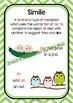 Back To School - Figurative Language - 9 Posters - Simile