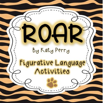 """Roar"" Figurative Language"