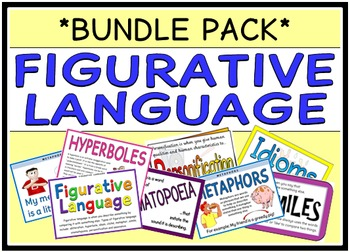 Figurative Language (BUNDLE PACK)