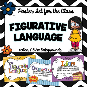 Figurative Language Classroom Posters