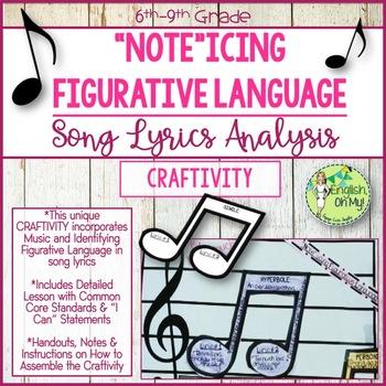 Figurative Language {Craftivity}-Identifying Figurative La