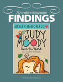 Figurative Language Findings: Judy Moody Saves the World #3