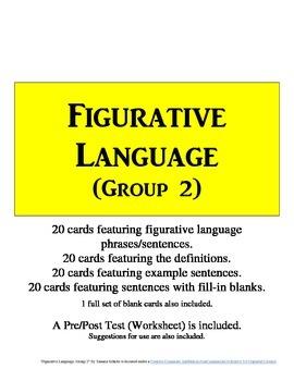 Figurative Language Flashcards (Group 2)