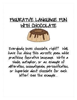 Figurative Language Fun with Chocolate