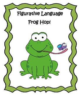 Figurative Language Hop (common core aligned)