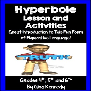 Hyperbole Lesson and Writing Activities
