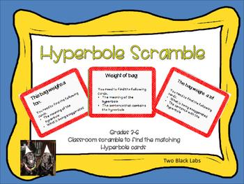 Figurative Language: Hyperbole Scramble