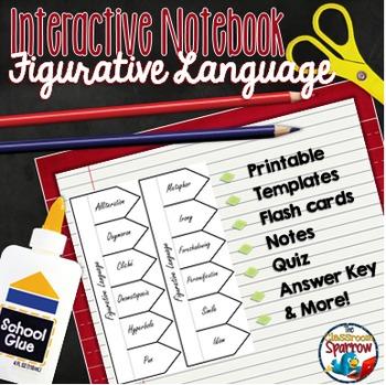 Figurative Language: Interactive Notebook Activities