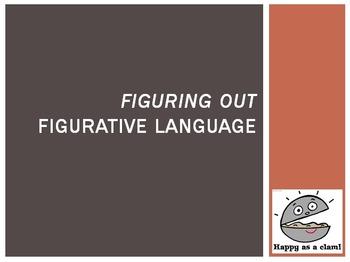 Figurative Language Powerpoint & Activities