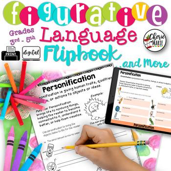 Figurative Language 3rd Grade / 4th Grade / 5th Grade RL3.