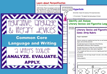 Figurative Language +Literary Devices-similes, hyperboles,