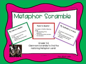 Figurative Language: Metaphor Scramble