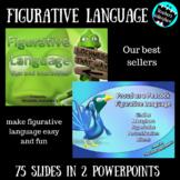 Figurative Language Mini Bundle PowerPoint - Test Prep - W