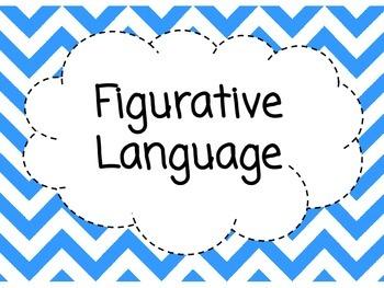 Figurative Language Poster Pack
