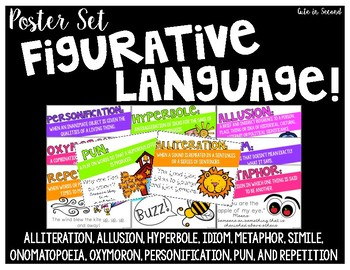 Figurative Language Poster Pack