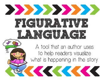 Figurative Language Posters Arrows