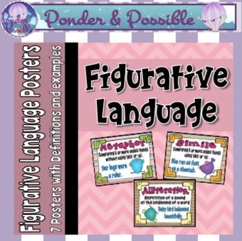 Figurative Language Posters ~ Similes, Metaphors, Allitera