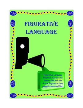Figurative Language Practice Review and Game