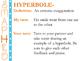 Figurative Language Presentation (using SMAPHRO mnemonic)