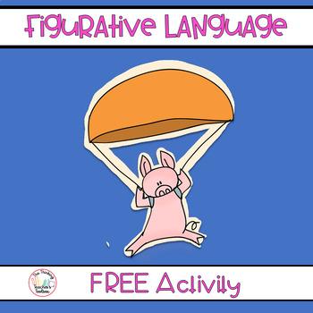 Figurative Language RL.3.4 & L.3.5 - 100th Follower FREEBIE!