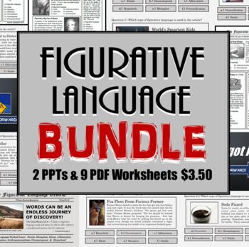 Figurative Language Review Bundle