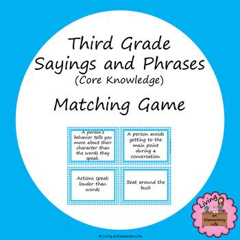 Figurative Language (Set #2) Matching Game