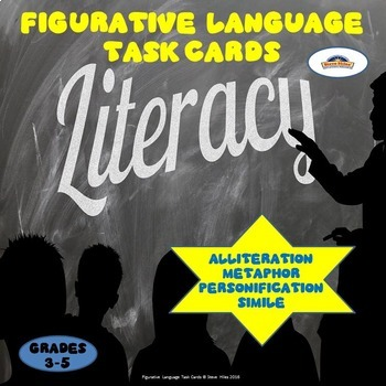 Figurative Language Task Cards: Grades: 3-5