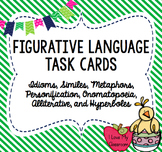 Figurative Language Task Cards (Multiple Choice)