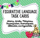 Figurative Language Task Cards (Multiple Choice)