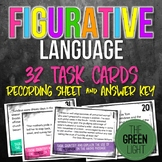 Figurative Language Task Cards: Quizzes, Activities, Bell-Ringers