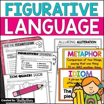 Figurative Language: Simile, Metaphor, Alliteration, Perso