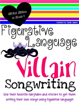 Figurative Language Villain Songwriting