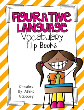Figurative Language [Vocabulary Flip Books]