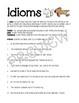 Figurative Language Worksheets ~BUNDLE