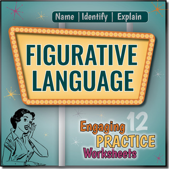 Figurative Language Worksheets {Name, Identify and Explain
