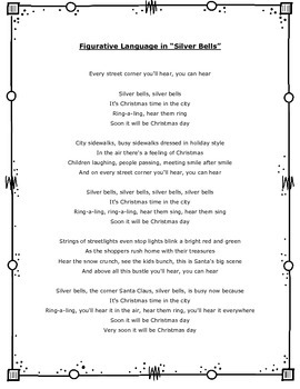 Figurative Language in Christmas Songs