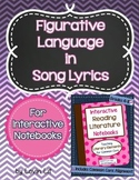 Figurative Language in Song Lyrics for Interactive Noteboo