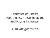 Figurative Language with Frindle