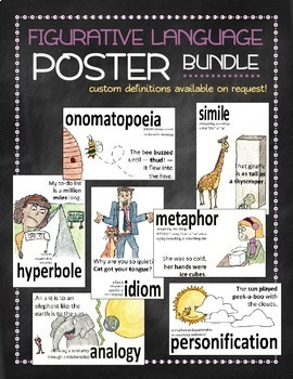 Figurative language poster bundle