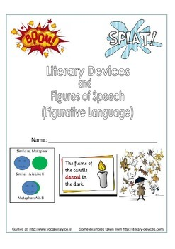 Figures of Speech/ Figurative Language/ Literary Devices