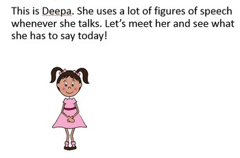 Figures of speech - Simile, Metaphor and Personification - ESL