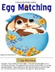 File Folder Activities Easter Egg Matching Pictures & Lett